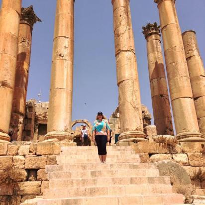 #jerash #jordan #artemis #temple